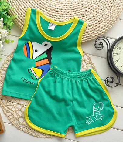 China baby clothing Wholesale s kids sleevess blouse + Pants sports suit baby Clothes Sets
