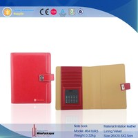 Wholesale Leather Cover Note Book,School Note Book
