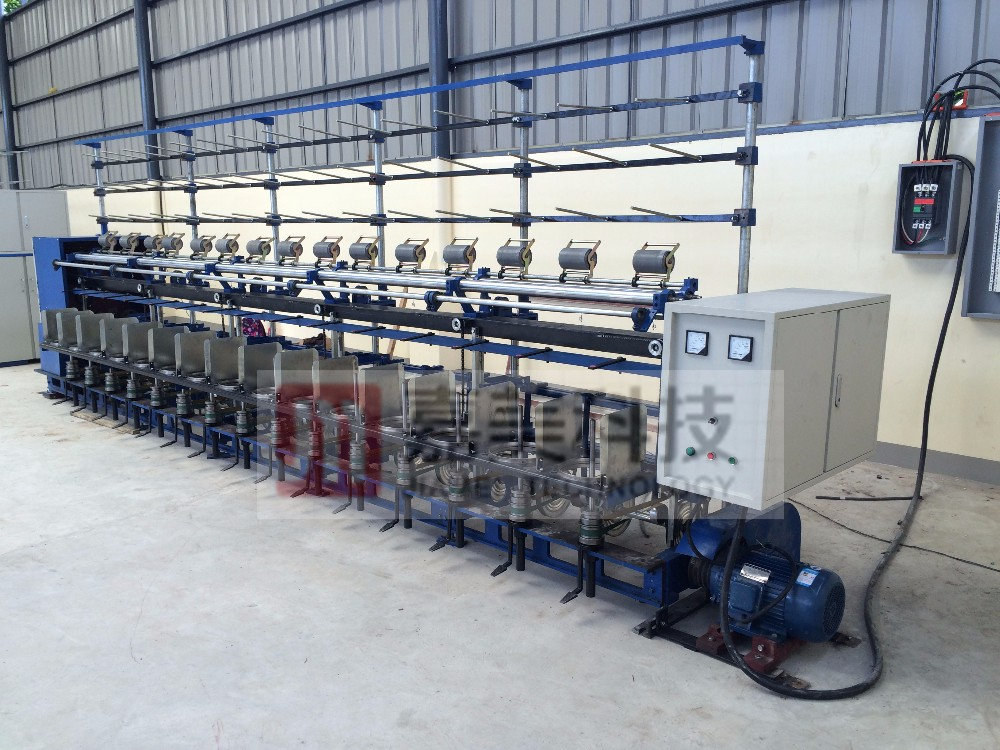 pp twine making machine / yarn twisting machine / ring twister for sale