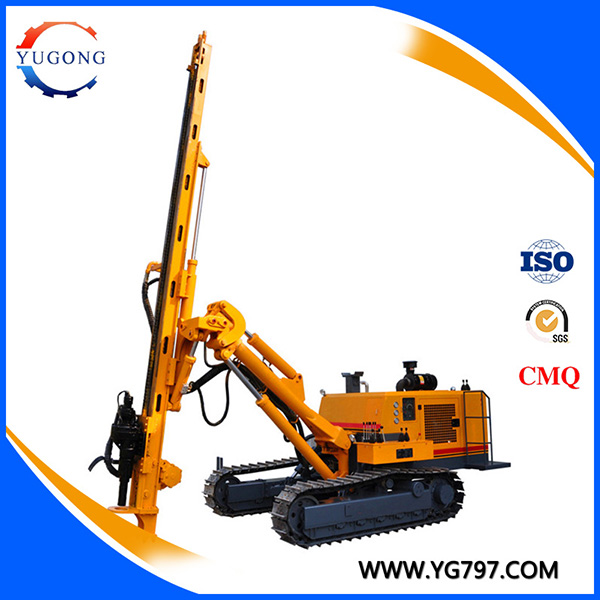 YG-420D crawler mounted 30m rock drill for Brazil market for sale