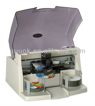 High speed automatic dvd printer