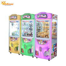 Crazy Toy 2 gift giving game machine,claw crane machine for sale in singapore