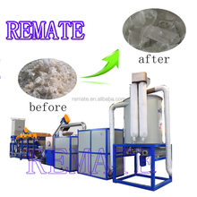 High efficiency waste plastic pe film washing and recycling line