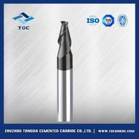 tungsten carbide taper end mills with two flutes from China