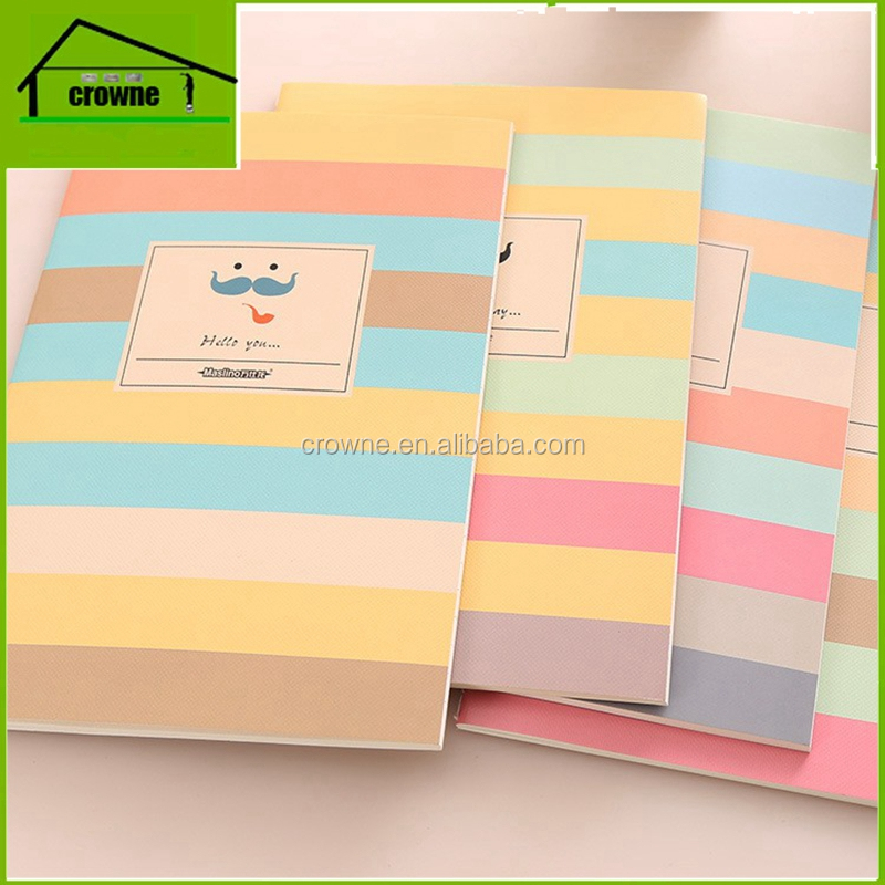 Staple Stich School Notebook, Exercise Notebook for Students