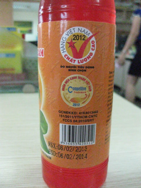 Wholesales Orange Flavour Syrups In Plastic Bottle FMCG products