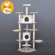 Customized Designs Luxury Pet Supply Cat Tree Made In China