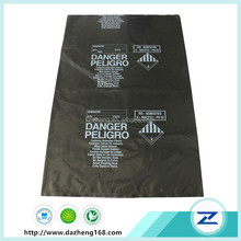 Good quality heavy duty clear plastic garbage bag for industrial use
