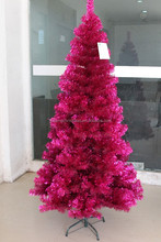 tinsel 6ft Pink Artificial Christmas Tree