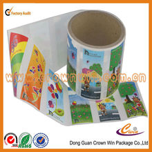 Custom colors sticker , glitter face stickers for vinyl sticker made in china