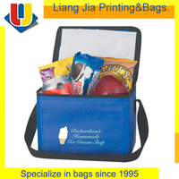 Foods Front Pocket Polyester Cooler Bag