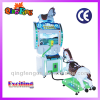 Mini jockey MA-QF305-1 amusement center kiddy ride horse racing equipment for sale