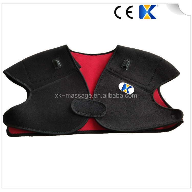 Electric Heated Shoulder protector / Injury shoulder brace / double shoulder support belt