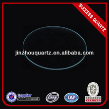 clear quartz glass wafer