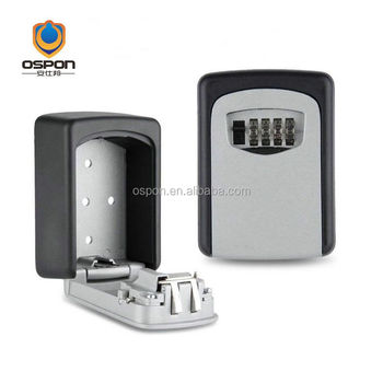 OSPON Key keeper safety highly lock box Wall Mount Combination key safe OS5401