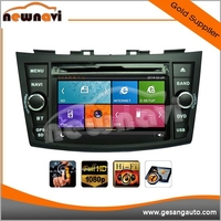 7 inch touch screen wince 6.0 entertainment system car dvd player for SUZUKI SWIFT 2011- with Radio,GPS,Bluetooth,3D UI