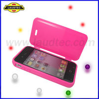 New Arrival for iPhone 4 4S Silicone Case,Soft Skin Case Cover---Laudtec