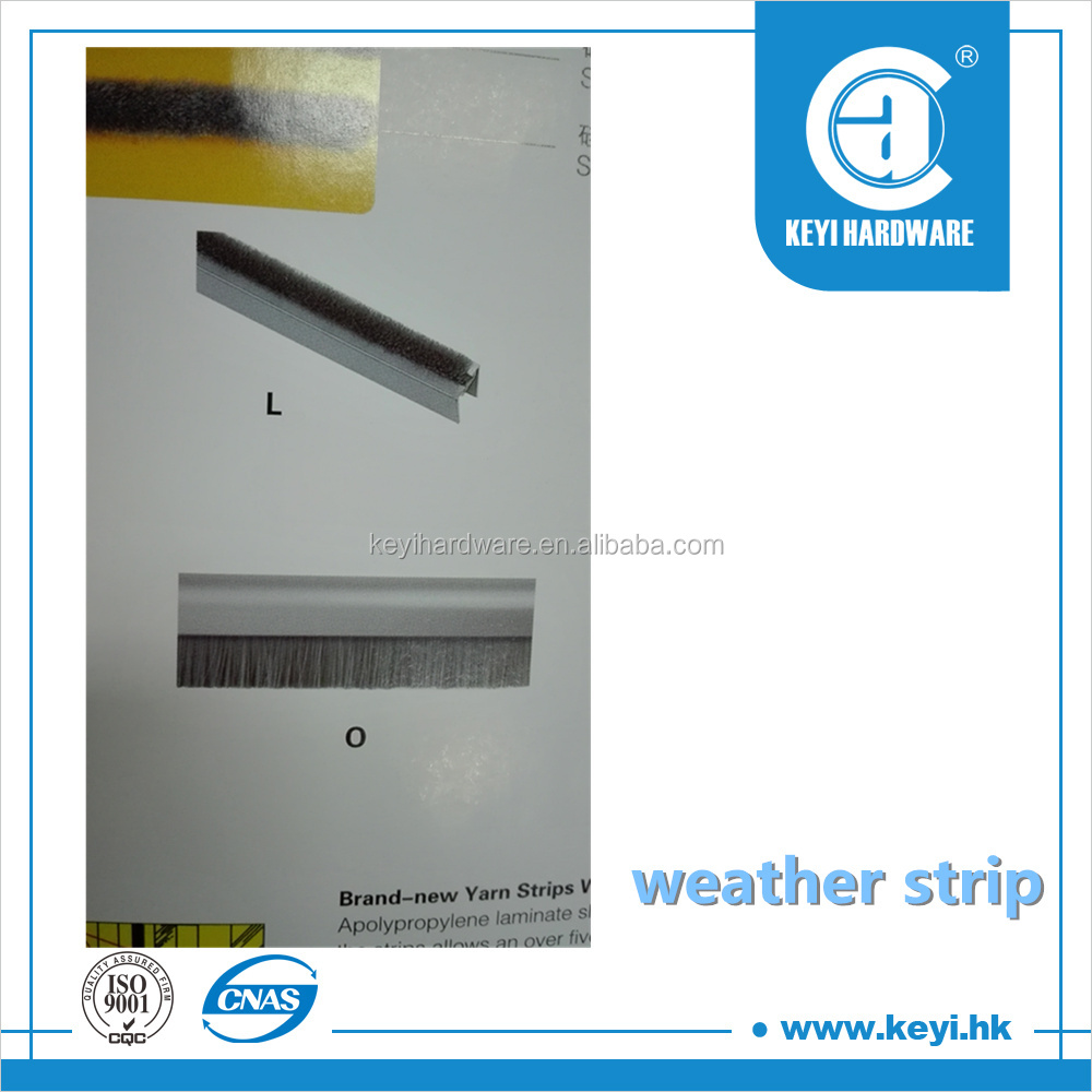 2015 HOT pile weather strip / u channel weather strip / fireproof weather strip factory price