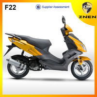 ZNEN 50CC Sporty model with brake mode of front:disc and rear:drum /EEC homologation/EPA DOT scooters