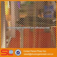 2013 new style!Decorative metal mesh fabric,metal curtain nets,building material