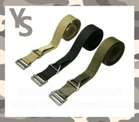 [Wuhan YinSong] Canvas Strong Buckle Belt Military Belt Army Tactical Fashion Mens Belt