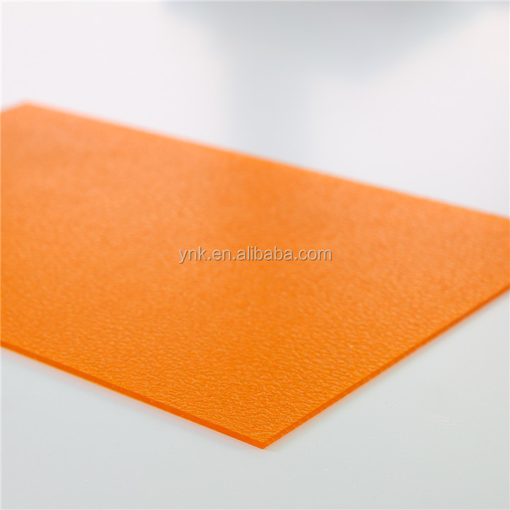 partition wall decoration polycarbonate plastic embossed pc sun sheet