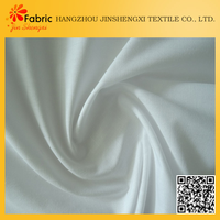 Anti-bacteria moisture-absorbent white bedding plain weave bamboo fabric