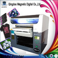 digital flatbed gift uv led light printer/objects white ink printer