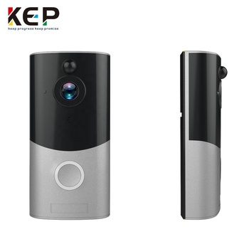 PIR Wireless app connecting security video intercom wifi smart home door bell with camera