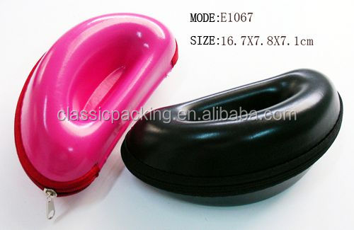2014 new style soft leather glasses case hello kitty sunglasses case,optical eyewear cases