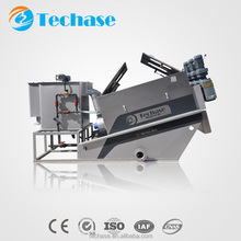 Automatic industrial sludge dewatering filter press machine