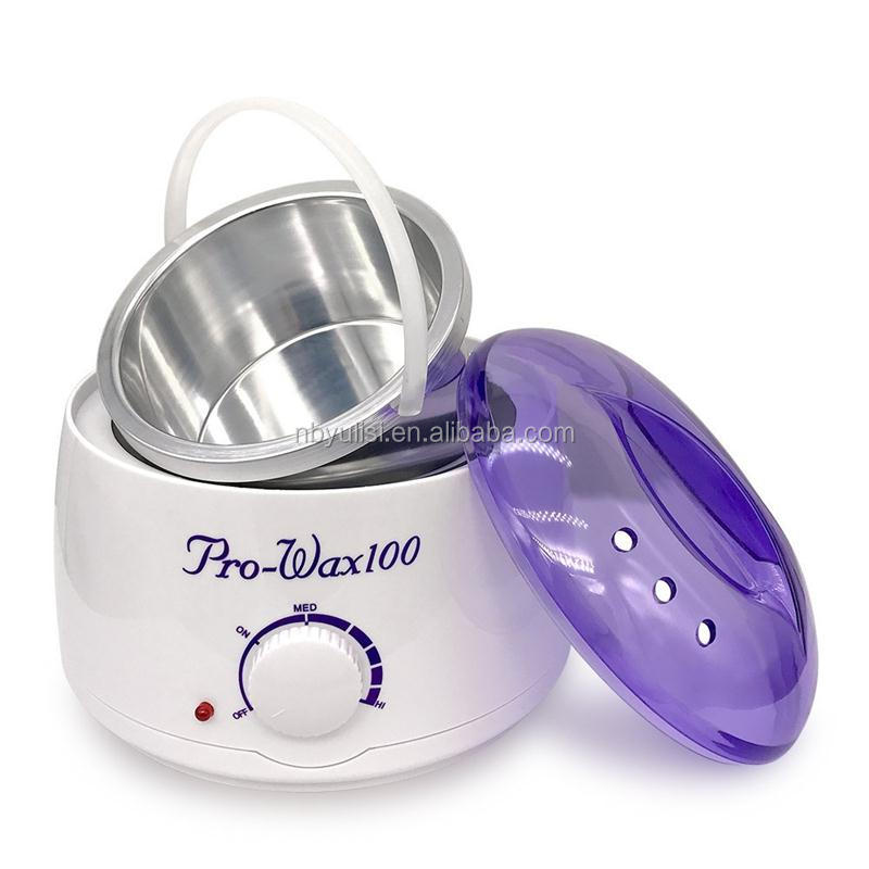 Multifunctional beauty product ce depilation paraffin white heater waxing machine wax warmer for wholesales