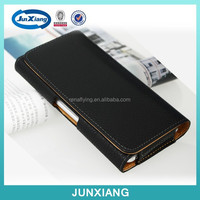 High quality leather case for iphone 6 with belt clip made in China