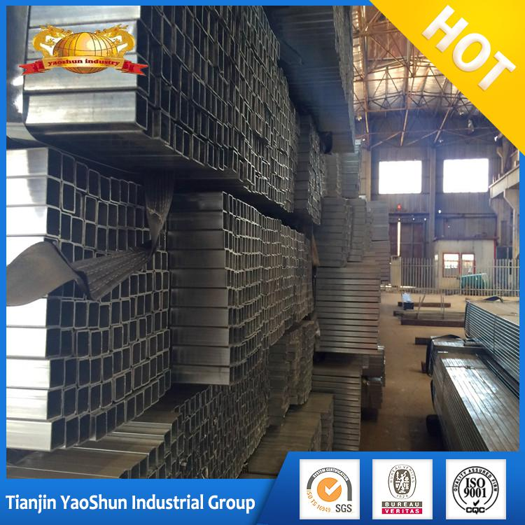 Gi rectangular hollow section weight/pre galvanized square tube