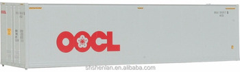 ABS 1:87 40' shipping container model