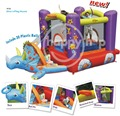 Happy Hop Inflatable Castle -9122 Jumping Castle, Bouncy Castles