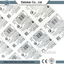 Multi-Color China Supplier Roll Removable Printing Label Blank Label Sticker for Packaging