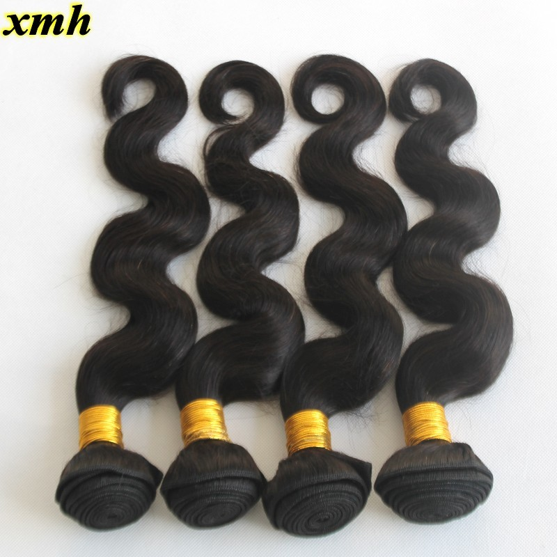 Peerless Virgin Hair Wholesale Brazilian Human Hair Body Wave 9A Full Cuticle Virgin Hair Weave 100g Bundles 8-30Inches