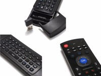 Latest Internet Tv Control Wireless Air Mouse For Android Tv Box Mx3/Fm3S Flymouse+Keyboard For Smart Tv