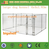 3mx3mx1.83 m galvanized Chain Link dog Kennel/dog run /dog fence