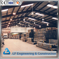 Free construction design light steel structure warehouse