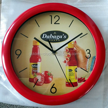 Cheap Plastic Wall Clock for Promotion