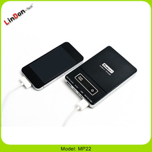 Aluminium case Portable Power Bank 7200mA for iPhone /iPad/Camera/MP2-3-4-5