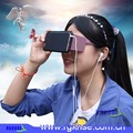 ABS and PC Virtual Reality VR 3D Glasses For Smartphones 2016 New Fashion 3D VR Case Shenzhen 3D Glasses Hybrid