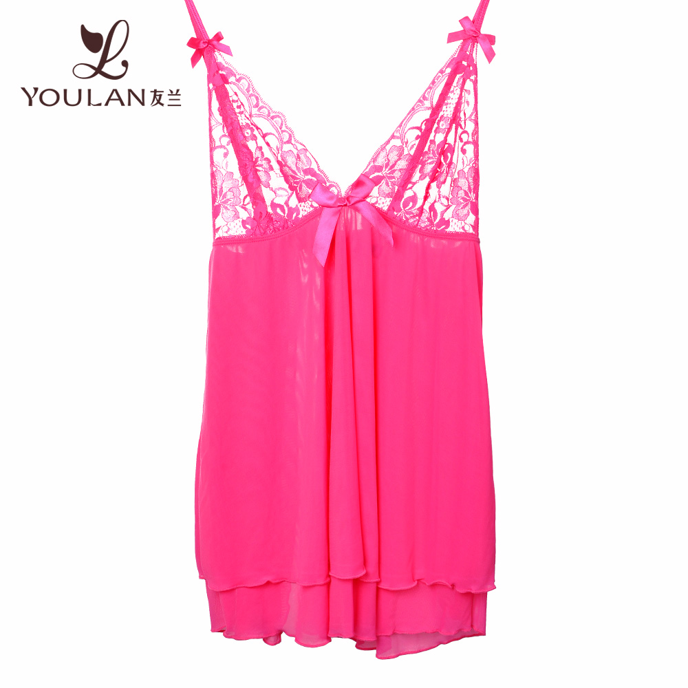 Plus Size Slim Women Sexy Lingerie Girl Nighty Sexy Night Lingerie