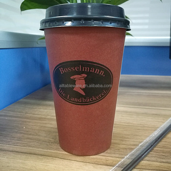 Wholesale Low Price High Quality Paper Cup for coffee Single Wall 16oz