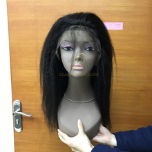 More $500 Free Shipping Wholesale Virgin Brazilian Remy Human Yaki Hair Wet And Wavy For Kinky Straight Hair Full Lace Wig