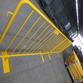 pedestrian barrier panel precast concrete walls metal fencing