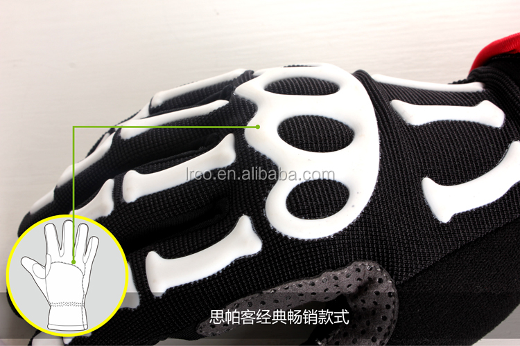 Racing Full Finger Gloves For Motorcycle and bicycle ,Custom Sport Gloves