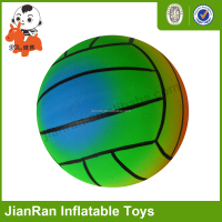 PVC ball eco-friendly material inflatable toys inflatable volleyball beach ball